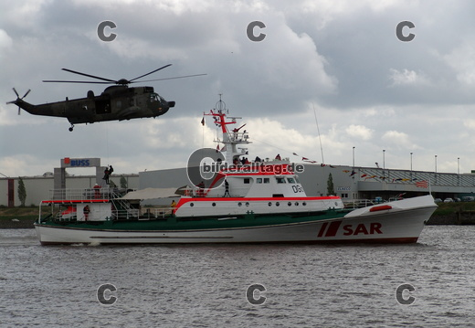 BW Marine Helikopter Seaking sea king